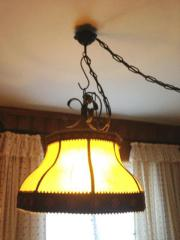 Lampe Stubenlampe Schmiedeeisenl