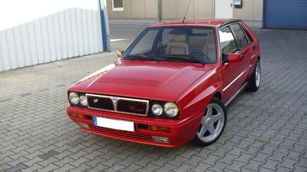 voiture lancia delta hf integrale occasion de 1988 pour 7200. Black Bedroom Furniture Sets. Home Design Ideas