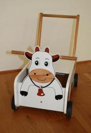 Laufwagen Kuh aus
