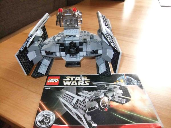 Lego star wars darth vader``s tie fighter in