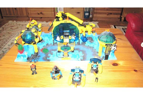 lego unterwasserstation 6195 in berlin spielzeug lego playmobil kaufen und verkaufen ber. Black Bedroom Furniture Sets. Home Design Ideas