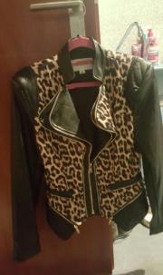 Leoparden Jacke Gr.
