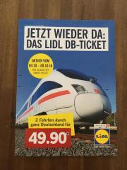 Lidl DB-Bahnticket