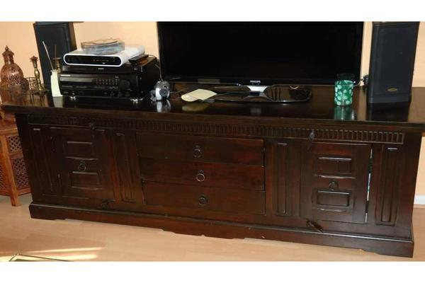 lowboard sideboard kommode tv board schrank cabana kolonial braun kare in hamburg. Black Bedroom Furniture Sets. Home Design Ideas