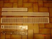 Lüftungsgitter aus Metall,