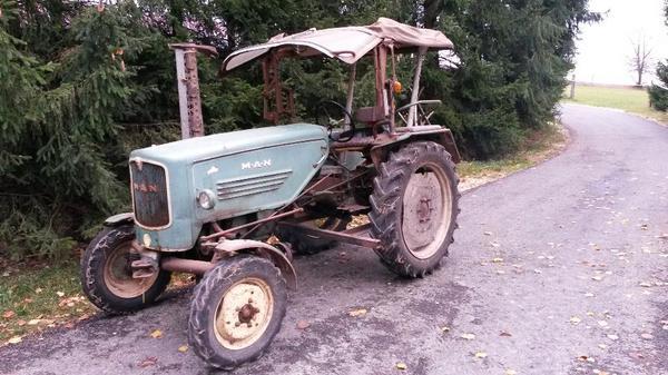 man oldtimer traktor model 2l1 zu verkaufen teiletr ger. Black Bedroom Furniture Sets. Home Design Ideas