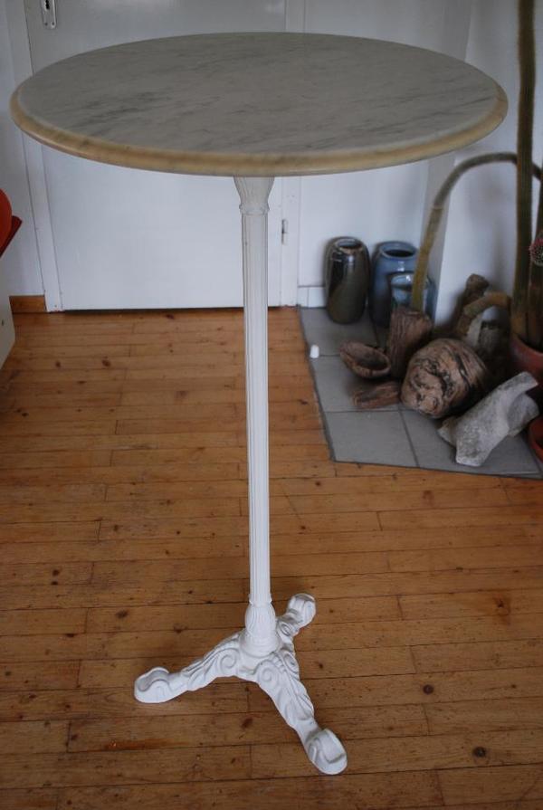 marmor bistrotisch stehtisch 60 cm durchmesser in pforzheim gastronomie ladeneinrichtung. Black Bedroom Furniture Sets. Home Design Ideas