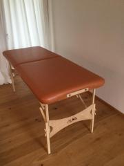 Massageliege Osteopathie Clap