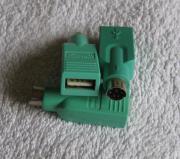 Mausadapter USB - PS/