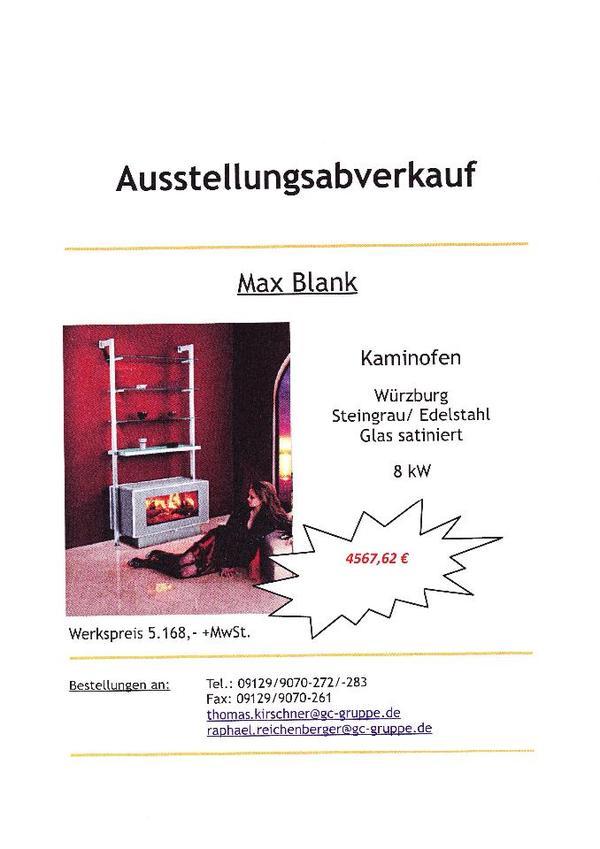 max blank kaminofen w rzburg steingrau edelstahl glas satiniert in n rnberg fen heizung. Black Bedroom Furniture Sets. Home Design Ideas