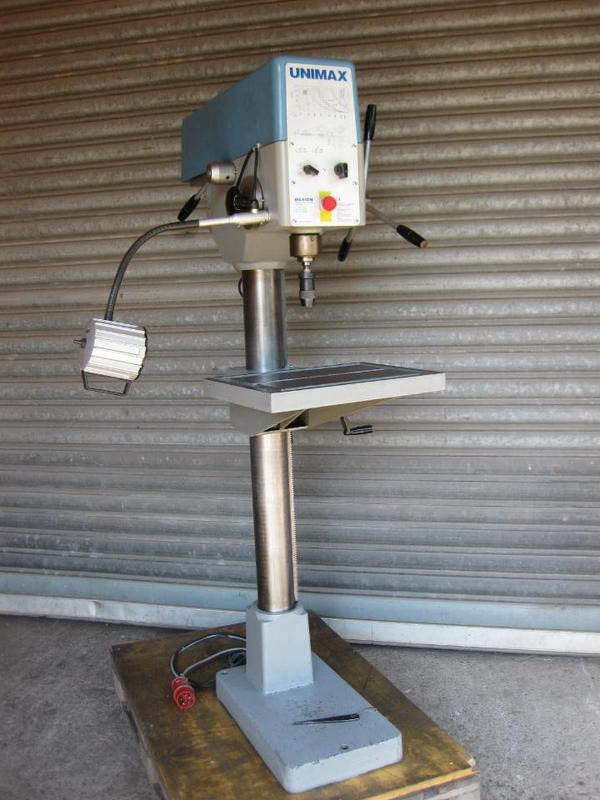 unimax machine