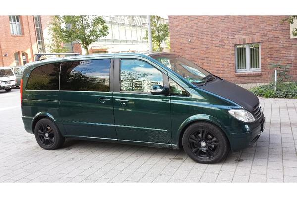 mercedes benz viano 2 2 cdi kompakt automatik trend privat in berlin mercedes v klasse vito. Black Bedroom Furniture Sets. Home Design Ideas