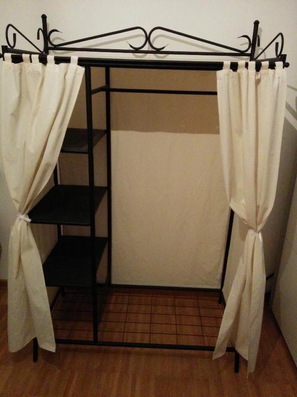metallgarderobe home affaire in f rth garderobe flur. Black Bedroom Furniture Sets. Home Design Ideas