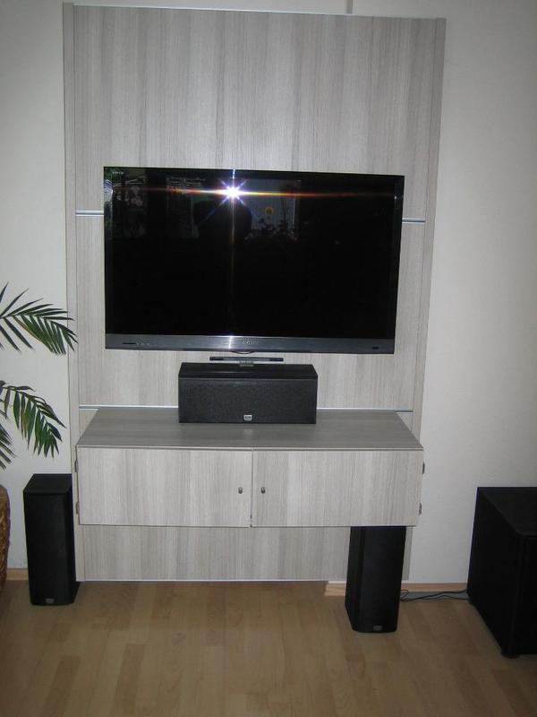 moderne cinewall tv fernsehwand in frankfurt wohnzimmerschr nke anbauw nde kaufen und. Black Bedroom Furniture Sets. Home Design Ideas