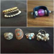 Modeschmuck Ringe