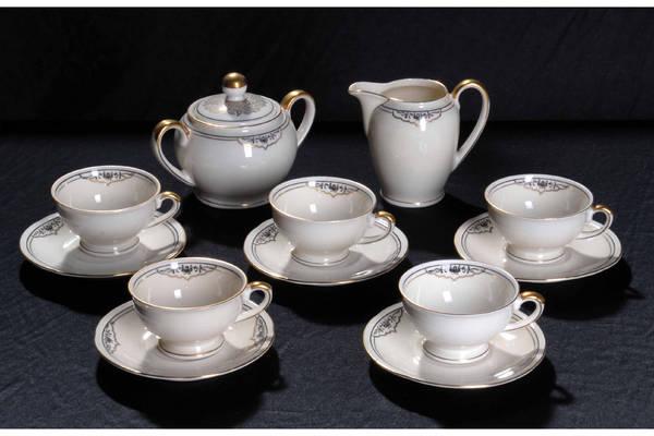 mokkaservice bavaria porzellan in karlsruhe glas porzellan antiquarisch kaufen und verkaufen. Black Bedroom Furniture Sets. Home Design Ideas