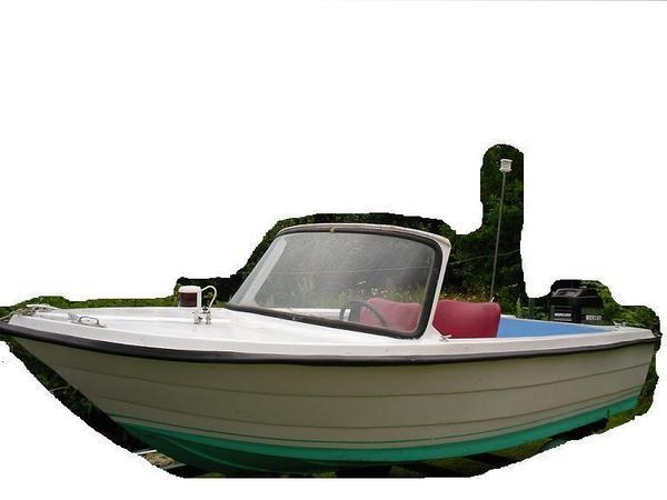 motorboot mit trailer heinemann ba25 in elmshorn. Black Bedroom Furniture Sets. Home Design Ideas