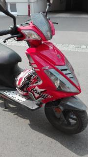 Motorrad Roller Explorer