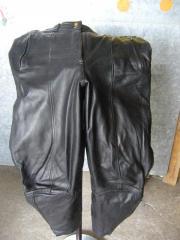 Motorradhose aus Leder
