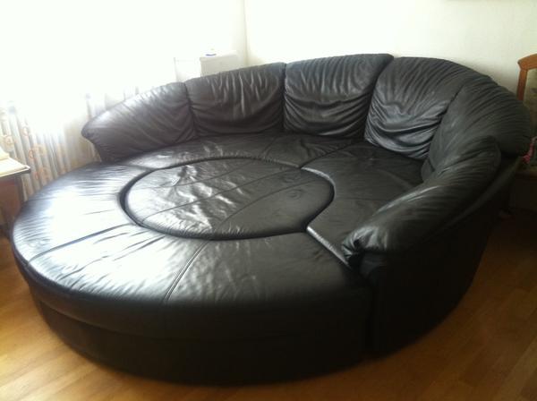nieri luxus rundsofa sofa couch sofagarnitur. Black Bedroom Furniture Sets. Home Design Ideas