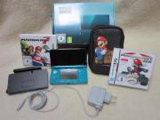 Nintendo 3DS mit Orginalverpackung und viel Zubehör Nintendo Modul-Spielkonsole, 3 DS, in Aqua Blau, mit Nintendo 3 DS - kaum benützt- Ladestation, ... 160,- D-83607Holzkirchen Heute, 08:25 Uhr, Holzkirchen - Nintendo 3DS mit Orginalverpackung und viel Zubehör Nintendo Modul-Spielkonsole, 3 DS, in Aqua Blau, mit Nintendo 3 DS - kaum benützt- Ladestation