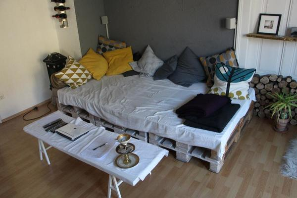 / Couch; Europalette, Palette in Karlsruhe - Polster, Sessel, Couch ...