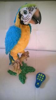 Papagei Furreal sprechender