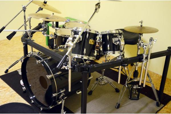 pearl mmx profi set mit allem drum und dran in. Black Bedroom Furniture Sets. Home Design Ideas