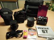 Pentax 67 + TTL