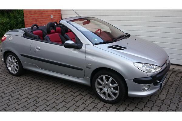 peugeot 206 cc 135 platinum in hainburg peugeot cabrio. Black Bedroom Furniture Sets. Home Design Ideas