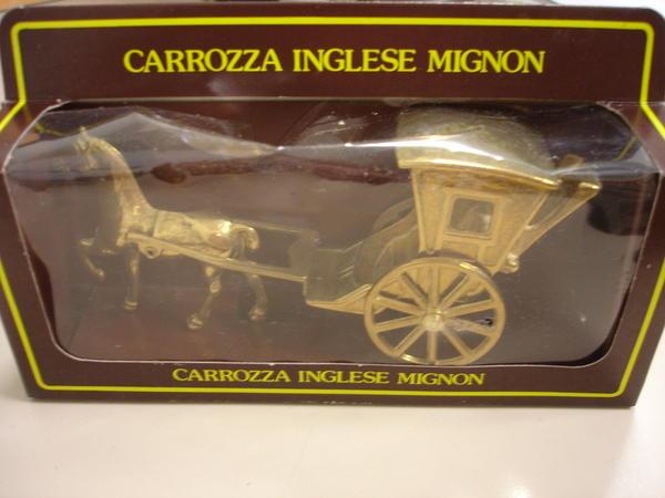Dekoartikel pferd mit kutsche messing carozza inglese for Dekoartikel stuttgart