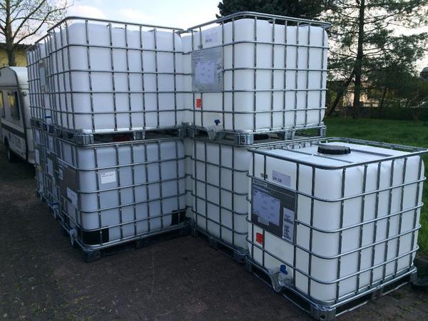 pferd tr nke regenwasser tank container 1000 liter ibc wasserfass zisterne fass gitterbox. Black Bedroom Furniture Sets. Home Design Ideas