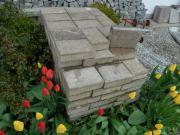 Pflastersteine, Beton, gebraucht