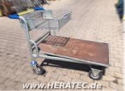 Plattenwagen Baumarktwagen Transportwagen