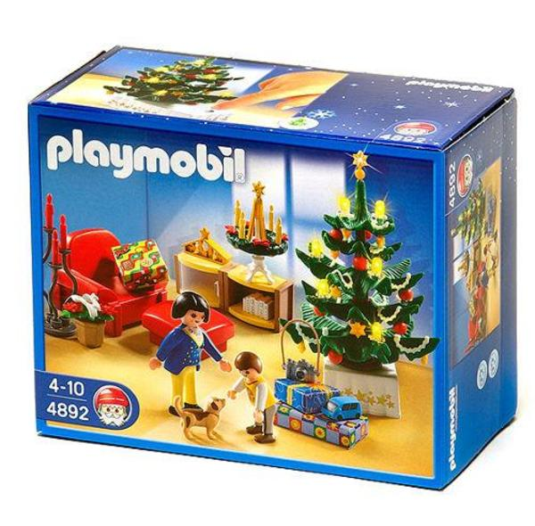 playmobil weihnachten familie 4892 in stuttgart. Black Bedroom Furniture Sets. Home Design Ideas