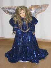 Porzellanpuppe Engel von