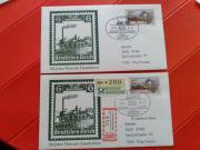 Postkarten mit Automatenmarken