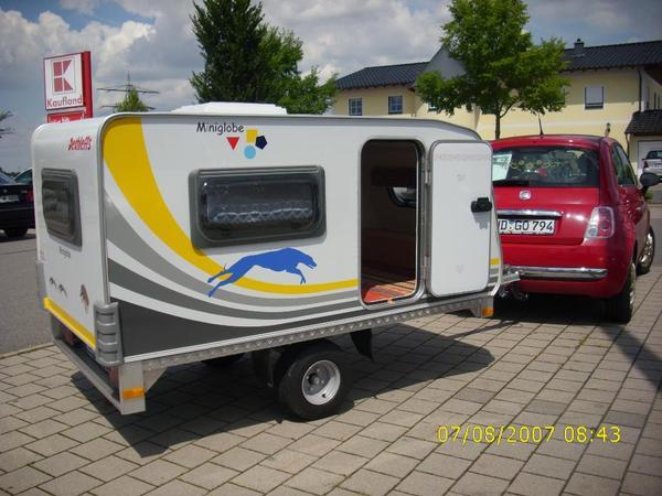 preisreduzierung miniwohnwagen dethleffs miniglobe kids camp in dossenheim wohnwagen. Black Bedroom Furniture Sets. Home Design Ideas