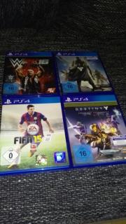 PS4 Spiele zu