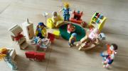 Puppenhaus Familie mit