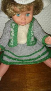 Puppenkleidung, antike Handarbeit,