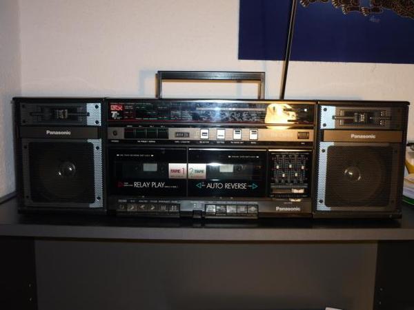 radio kassettenrecorder von pansonic in stuttgart radio. Black Bedroom Furniture Sets. Home Design Ideas