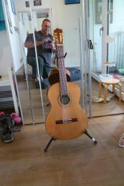 Rarität! handgemachte Konzertgitarre