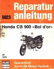 Reparaturanleitung Honda CB