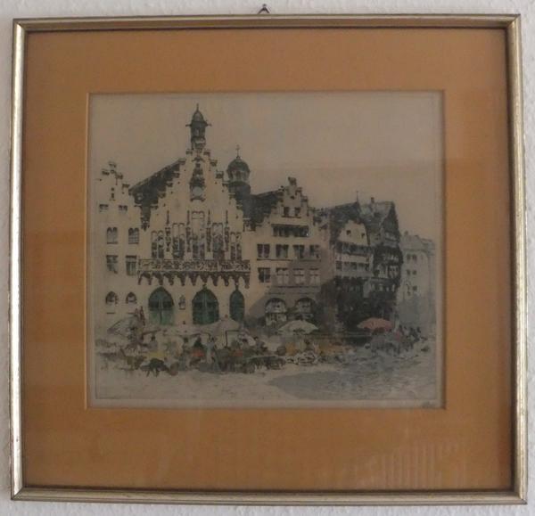 r mer in frankfurt altstadt frankfurt mit dom in bensheim kunst gem lde plastik kaufen und. Black Bedroom Furniture Sets. Home Design Ideas