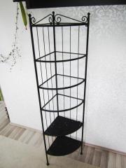 eckregal metall haushalt m bel gebraucht und neu kaufen. Black Bedroom Furniture Sets. Home Design Ideas