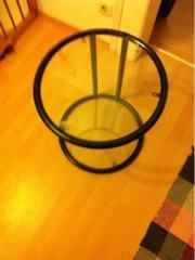 glastisch runder haushalt m bel gebraucht und neu kaufen. Black Bedroom Furniture Sets. Home Design Ideas