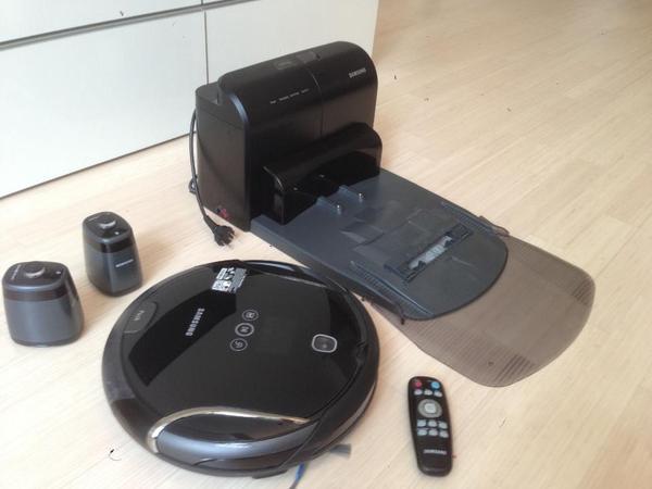 samsung sr8980 navibot s schwarz roboter staubsauger in heidenheim kaufen und verkaufen. Black Bedroom Furniture Sets. Home Design Ideas
