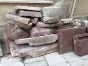 Sandsteine / Sandplatten / Pfosten