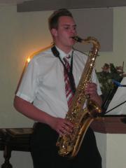 Saxophonist, Alleinunterhalter, Geburtstag,